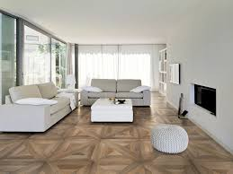 tile floors in living room tile to wood transition in front of