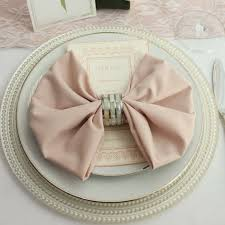 wholesale wedding linens 20 inch blush napkins 12 pack cloth napkins napkins and weddings