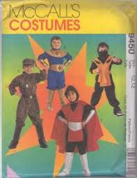 sewing pattern ninja costume momspatterns vintage sewing patterns halloween costume patterns
