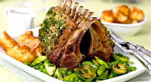 easter dishes traditional of rack the recipe to prepare a roast rack of