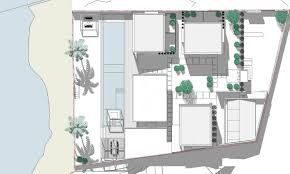 villa malouna sicart smith architects architecture lab villa malouna sicart smith architects mass plan