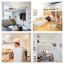 chambre adulte petit espace chambre à coucher idees decoration petit espace lit mezzanine