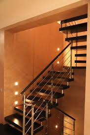 cantilever wooden staircase moscow marretti