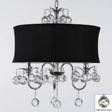 Chandelier With Crystal Balls Gallery Crystal Swag Plug In 3 Light Chandelier With Large Black