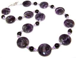 amethyst necklace beads images Enchanted amethyst beaded jewelry making set jpg