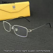 Optical Frame Tagged Glasses Fonex Brand Spectacle Frames Computer Glasses Tag Hezekiah Optical