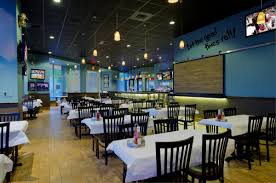 Seafood Restaurant Interior Design by Restaurant Color Design The Combination Of Blue Walls And Sandy