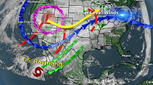 Weather Map Texas Flash Flood Concern And Severe Weather Threat For North Texas