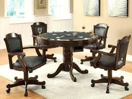 swivel dining room chairs casters table sets with wheels upholstered dining room chairs casters swivel casual with
