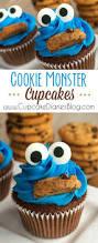 cookie monster cupcakes recipe cookie monster cupcakes