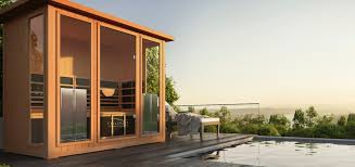 can you put your infrared sauna outside