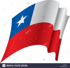 Chile Santiago Flag Chile Stock Vector Images Alamy