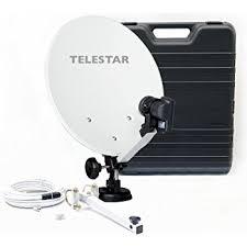 satellitenschã ssel halterung balkon technisat digidish 33 sat offset spiegel mit de elektronik