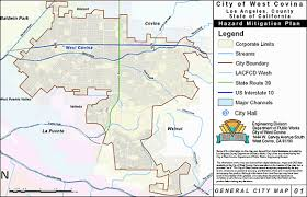 west covina ca map section 2 community profile city of west covina