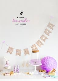 lavender baby shower a simple lavender baby shower