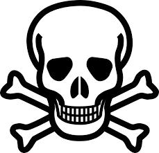 cross skull danger free vector graphic on pixabay