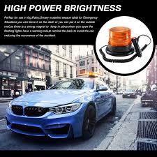 use of amber lights on vehicles led strobe light antom amber emergency magnetic flashing warning