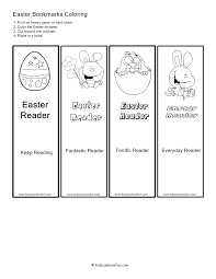 printable easter bookmarks to colour color easter bookmarks school ideas pinterest bookmarks