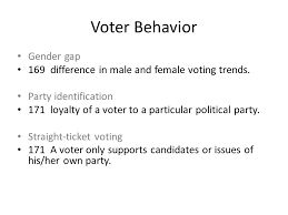 ch 6 voters and voter behavior copy voting is crucial to a