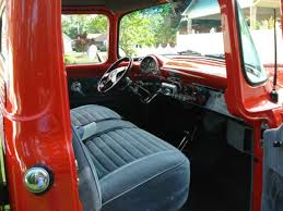 Ford Truck Interior 1956 Ford Truck Red Exterior Light Gray Interior Show