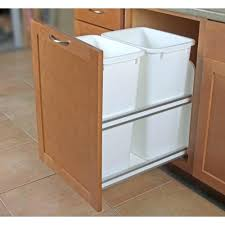 pull out trash can cabinet door base cabinet pull out trash can