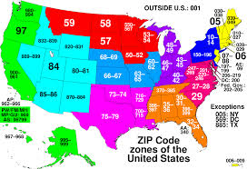 Zip Code Map Mesa Az by List Of Zip Code Prefixes Simple English Wikipedia The Free