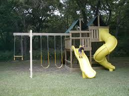 gemini diy wood fort swingset plans jack u0027s backyard