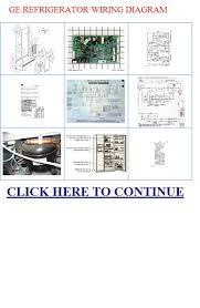ge refrigerator wiring diagram refrigerator repair ge