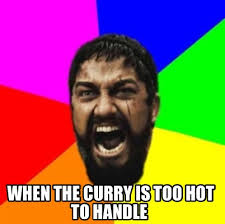 Too Hot Meme - meme creator when the curry is too hot to handle meme generator at