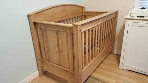 Oak Convertible Crib Convertible Crib Oak Modified From Wood Magazine By Rick