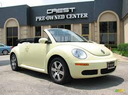 volkswagen buggy convertible 2006 mellow yellow volkswagen new beetle 2 5 convertible 9294516