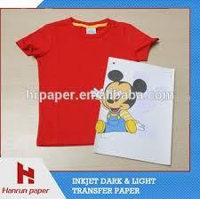 a4 a3 roll light t shirt heat transfer paper for t shirt
