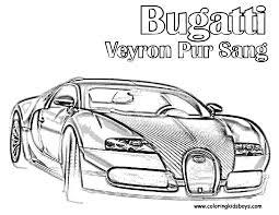 super fast cars coloring bugatti itgod