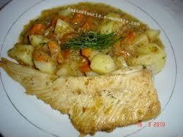 cuisine aile de raie au four ailes de raie à la crème la cuisine de jouhayna de a à z