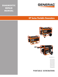 gp series service manual alternating current electric current