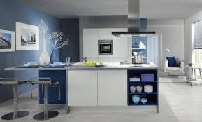 cuisine mur bleu déco cuisine mur bleu petrole 24 tours cuisine avec mur bleu