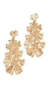 arabian earrings stella ruby leaf dangle earrings shopbop