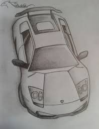 lamborghini drawing lamborghini murcielago sv by auveiss on deviantart