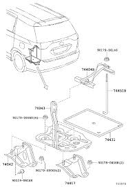 lexus hybrid battery location toyota estima hybridahr20w grxqb body battery carrier japan