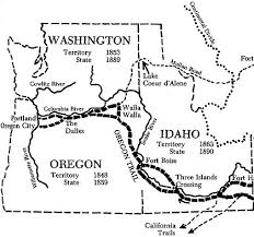 map of oregon 2 i d spend a few days at least traveling the oregon trail by