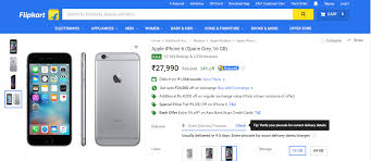 Home Zone Credit Card by Apple Iphone 6 At Rs 3 999 Yes It U0027s Possible On Flipkart Daily