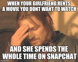 Your Girlfriend Meme - frustrated boromir meme imgflip
