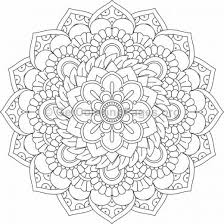 flower mandala coloring pages 157 u2013 getcoloringpages org