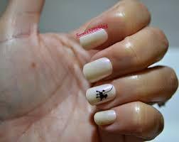 nail design ideas barbie in black and white easy nail art ii