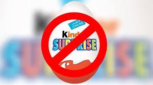 kinder suprise egg ferrero disputes hook claim as chile bans kinder eggs