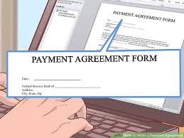 installment plan agreement template 4 simple ways to write a payment agreement wikihow