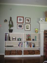 in our spare time beadboard bookshelves sort of