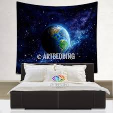 tapestry home decor galaxy tapestry planet earth from space wall tapestry space