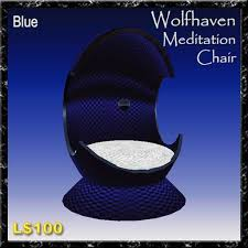 Meditation Chair Second Life Marketplace Meditation Chair Blue