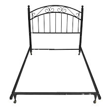 69 off crate and barrel crate and barrel full iron bed frame